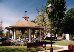 Easthampton common and gazebo